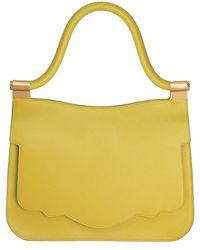 Thale Blanc - Audrey Leather Shoulder Bag - Lyst