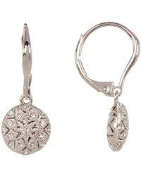 Nadri - Vintage-inspired Ornate Drop Earrings - Lyst