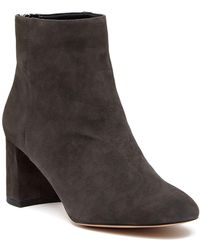 Enzo Angiolini - Gretchen Leather Bootie - Lyst