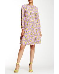 Orla Kiely - Damask Flower Shift Dress - Lyst