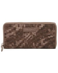 Liebeskind Berlin | Sally Handwoven Leather Zip Around Wallet | Lyst