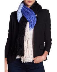 Kate Spade - Knit Colorblock Scarf - Lyst