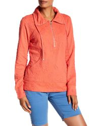 Tommy Bahama - Jacquard Othella Half Zip Pullover - Lyst