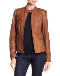 Andrew Marc - Felicity Leather Jacket - Lyst