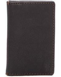 Frye - Oliver Bi-fold Leather Wallet - Lyst