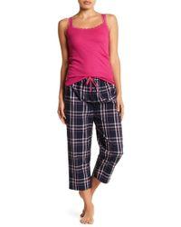 Joe Fresh - Drawstring Capri Pajama Pants - Lyst