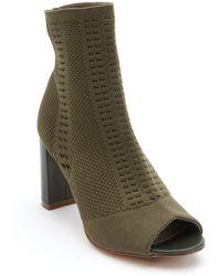 Matisse - Can't Stop Open Toe Sock Bootie - Lyst