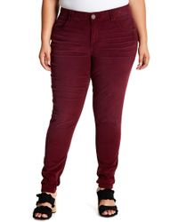 e99366a0d67 Democracy - Ab Tech Corduroy Skinny Jeggings (plus Size) - Lyst