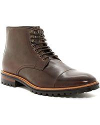 Gordon Rush - Lane Leather Lug Boot - Lyst