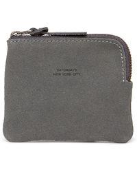 Saturdays NYC - Cash Half Zip Leather Wallet - Lyst