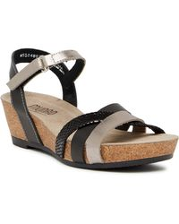 Munro - Eden Strappy Wedge Sandal - Multiple Widths Available - Lyst