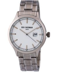 Ben Sherman - Men's Big Portobello Professional Watch, 45mm - Lyst