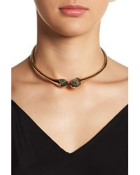 Robert Lee Morris - Abalone Collar Necklace - Lyst
