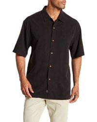 Tommy Bahama - Sips Ahoy Short Sleeve Original Fit Silk Shirt - Lyst