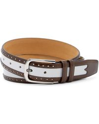 Mezlan - City Leather Belt - Lyst