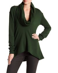 Go Couture - Giant Cowl Neck Sweater - Lyst