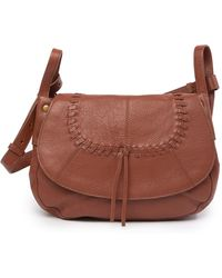 Lucky Brand - Amber Leather Shoulder Bag - Lyst