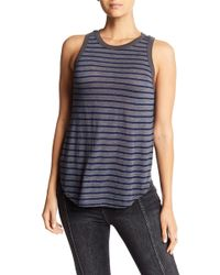 Stateside - Striped Racerback Tank - Lyst