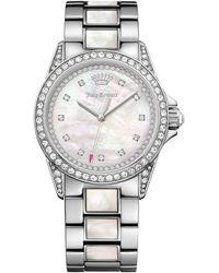 Juicy Couture   Women's Charlotte Crystal Bracelet Watch   Lyst