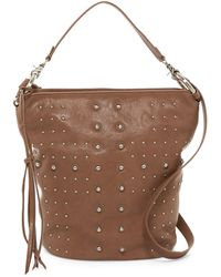 Sorial | Mia Leather Bucket Shoulder Bag | Lyst