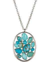 Ippolita - Sterling Silver Rock Candy Cluster Pendant Necklace - Lyst
