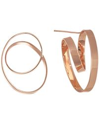 Robert Lee Morris - Sculptural Loop Hoop Earrings - Lyst