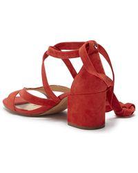Sam Edelman - Sheri Wrap-ankle Block Heel Sandal - Lyst