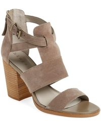 Hinge - 'cora' Block Heel Sandal (women) - Lyst