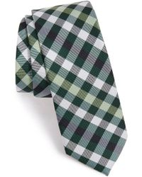 1901 - 'comber Check' Silk Tie - Lyst