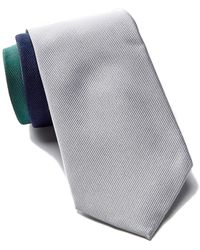 Tommy Hilfiger | Silk Tri-color Panel Tie | Lyst