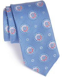 John W. Nordstrom - (r) 'aguero' Medallion Silk Tie - Lyst