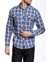 Travis Mathew - Tucker Plaid Regular Fit Shirt - Lyst