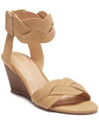 Kensie - Sharon Braided Wedge Sandal - Lyst
