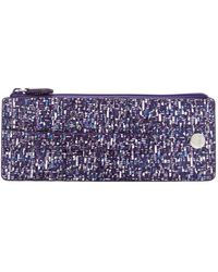 Lodis - Printed Leather Rfid Slim Card Case - Lyst