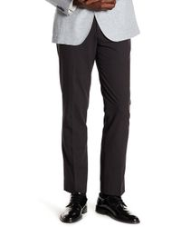 "English Laundry - Finchley Flat Front Microcheck Trousers - 30-34"" Inseam - Lyst"