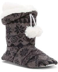 Pj Salvage - Pompom Faux Fur Boot - Lyst