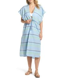 Echo - Sunset Stripe Cover-up - Lyst