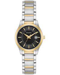 Bulova - Women's Diamond Accent Bracelet Watch, 28mm - Lyst