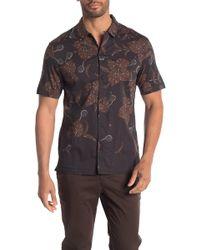 AllSaints - Kauai Short Sleeve Regular Fit Shirt - Lyst