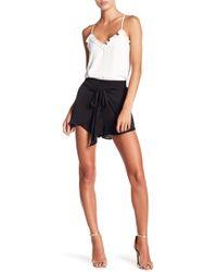 Naked Zebra Front Tie Skirt