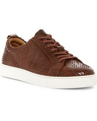 35180660e020 J SHOES - Weaver Snake Embossed Sneaker - Lyst