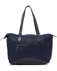 Cole Haan - Zerogrand Nylon Leather-trimmed Tote Bag - Lyst