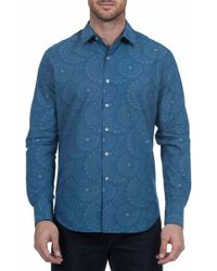 Robert Graham - Creedance Classic Fit Print Woven Shirt - Lyst