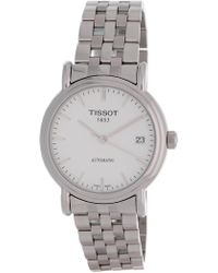 Tissot - Men's Carson Swiss Automatic Bracelet Watch, 36mm - Lyst