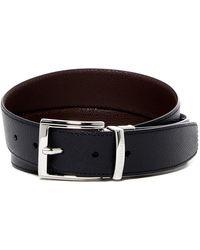 A.Testoni - Reversible Leather Belt - Lyst