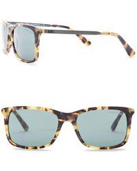 Michael Kors - Preston 55mm Square Sunglasses - Lyst