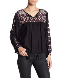 Raga - Diana Embroidered Blouse - Lyst