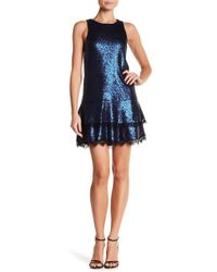 Jay Godfrey - Joso Sequined Drop Waist Dress - Lyst