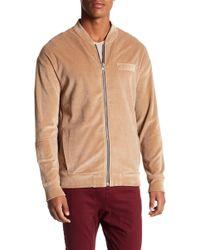 True Religion - Mandarin Collared Zipper Sweater - Lyst