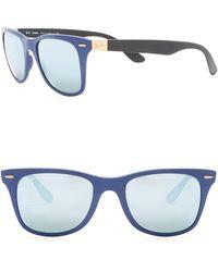031ff131250 Lyst - Ray-Ban Liteforce Wayfarer Sunglasses in Blue for Men